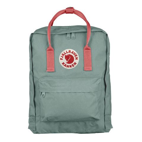 Рюкзак Fjallraven Kanken зеленый/персиковый, 16 л