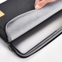 Чехол-сумка для ноутбука WiWU Pioneer чёрная