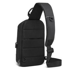 Однолямочный рюкзак Bange BG1912 черный