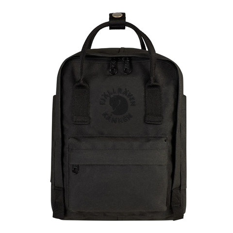 Рюкзак Fjallraven Re-Kanken Mini черный, 7 л