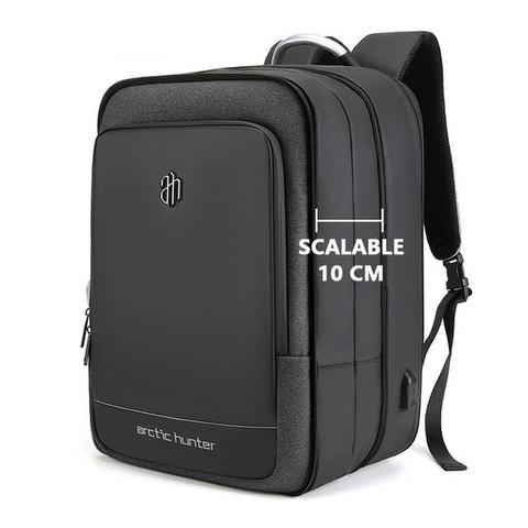 Рюкзак с увеличением объема Arctic Hunter B00227L черный