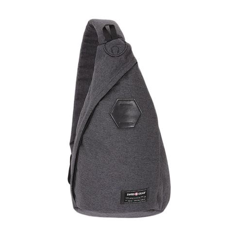 Рюкзак на одной лямке Swissgear cерый