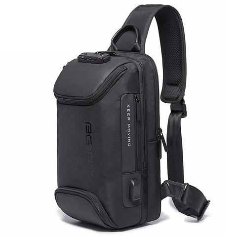 Однолямочный рюкзак Bange BG7082 черный