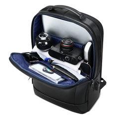 Рюкзак для бизнеса BOPAI 851-036511 нат.кожа черный