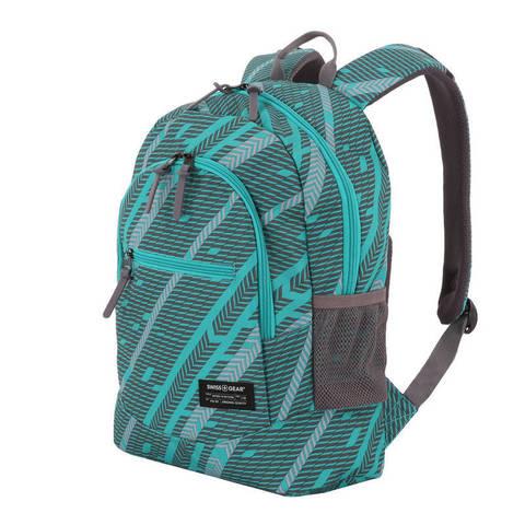 Рюкзак для города Swissgear голубой/серый