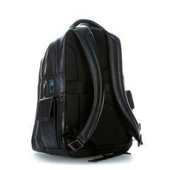 Рюкзак мужской Piquadro Black Square CA3444B3BM/N черный натур.кожа