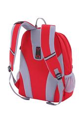 Рюкзак Wenger, красный/серый, со светоотражающими элементами, 33x17x46 см, 26л