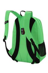 Рюкзак Wenger, салатовый/чёрный, со светоотражающими элементами, 33x17x46 см, 26л