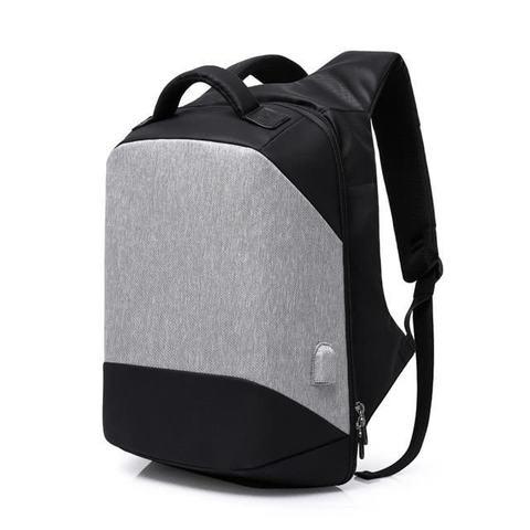 Рюкзак антивор для ноутбука 15,6 KAKA 2248 чёрно-серый