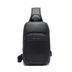 Рюкзак однолямочный Bange BG77111 чёрный
