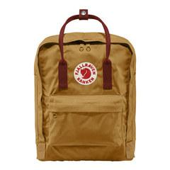 Рюкзак Fjallraven Kanken коричневый/бордовый, 16 л