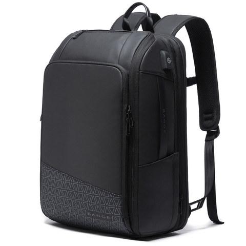 Рюкзак для путешествий с расширением объёма Bange BG22005 чёрный