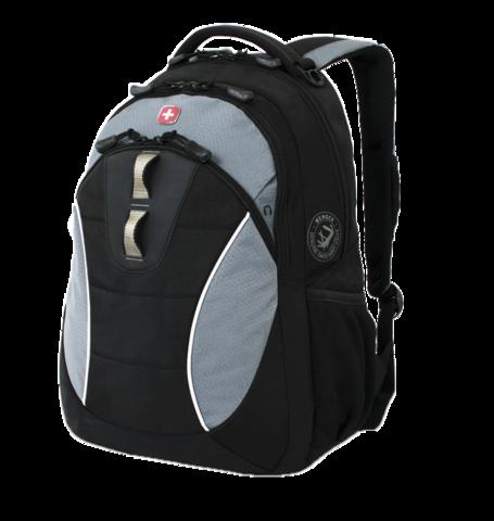 Рюкзак городской Wenger чёрный/серый