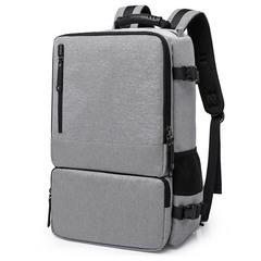 Рюкзак-сумка дорожный для путешествий КАКА 2255 серый