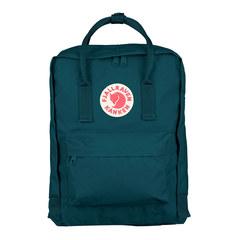 Рюкзак Fjallraven Kanken сине-зеленый, 16 л