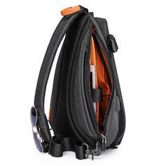 Рюкзак на одной лямке Tangcool 901 тёмно-серый