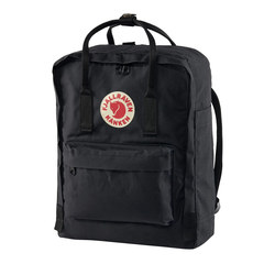 Рюкзак Fjallraven Kanken черный, 16 л