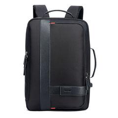 Рюкзак-трансформер с расширением BOPAI 751-006561 чёрный