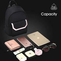 Рюкзак мини BOPAI чёрный/розовый