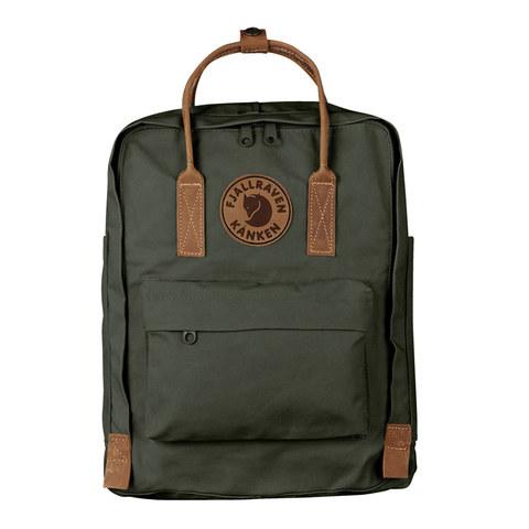 Рюкзак Fjallraven Kanken No. 2 темно-зеленый, 16 л