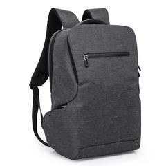 Рюкзак с карманами стильный для ноутбука 15,6 КАКА 803 тёмно-серый