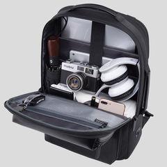 Рюкзак с расширением объёма Bange S-53 чёрный