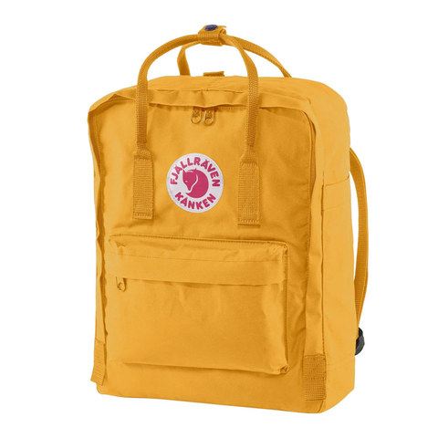 Рюкзак Fjallraven Kanken ярко-желтый, 16 л