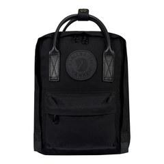 Рюкзак Fjallraven Kanken №2 Mini Black Edition черный, 7 л