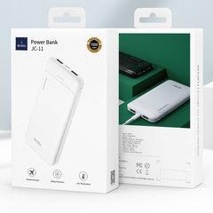 Внешний аккумулятор WiWU JC-11 (10000mAh, 2 USB out, Type-С in) белый