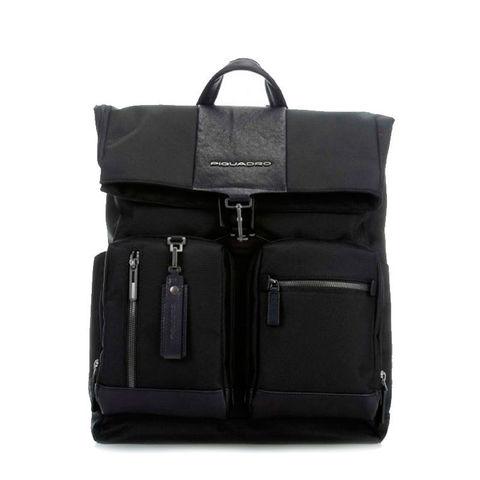 Рюкзак Piquadro Brief CA4533BR/N черный натур.кожа/ткань
