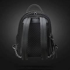 Рюкзак мини BOPAI 62-25821 чёрный с цепочкой