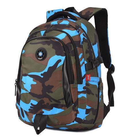 Рюкзак школьный Sun Eight 8105 камуфляж синий