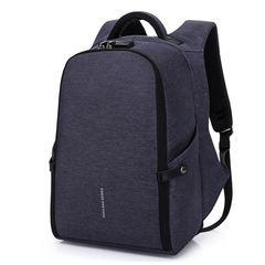Рюкзак антивор для ноутбука 15,6 KAKA 806 синий