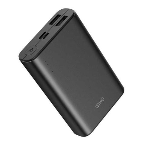 Внешний аккумулятор WiWU JC-05 (10000 mAh, 2 USB, PD, QC 3.0) черный