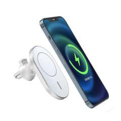 Автомобильный держатель с беспроводной зарядкой для IPhone 12/ 12 Pro/ 12 Pro MAX MagSafe WiWU CH306 15W