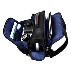Рюкзак дорожный BOPAI чёрный/коричневый