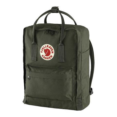 Рюкзак Fjallraven Kanken темно-зеленый, 16 л