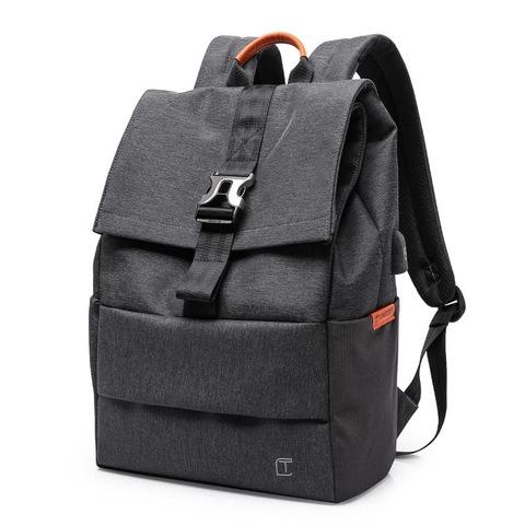 Рюкзак-торба молодёжный для города Tangcool 702 тёмно-серый