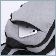 Рюкзак однолямочный повседневный КАКА 99010 синий