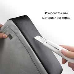 Рюкзак стильный WiWU Pioneer Pro тёмно-серый
