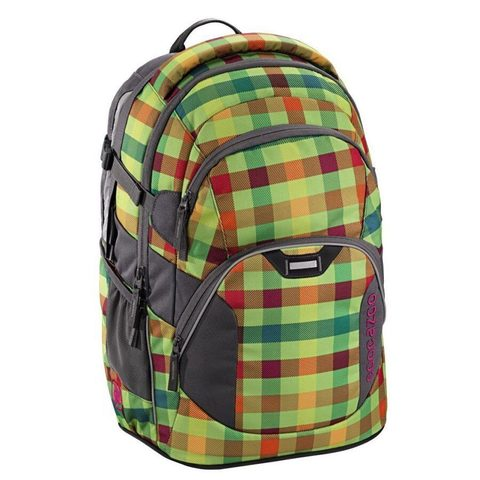 Рюкзак Coocazoo JobJobber2 Hip To Be Square зеленый/оранжевый, 30 литров