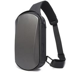 Однолямочный рюкзак Bange BG7256 серый