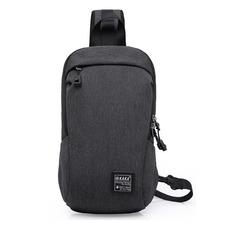 Рюкзак однолямочный повседневный КАКА 99010 тёмно-серый