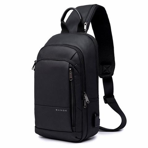 Однолямочный рюкзак Bange BG1911 черный