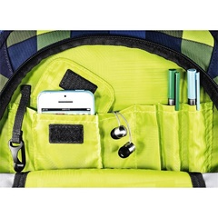 Рюкзак Coocazoo JobJobber2 Lime District синий/желтый, 30 литров