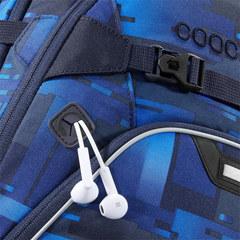 Рюкзак Coocazoo ScaleRale Deep Matrix, синий/голубой